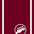 "Bass Headstock ""Ringer"" style (Scott Pilgrim - iPhone case) by maclac"