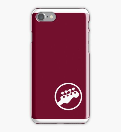 "Bass Headstock ""Ringer"" style (Scott Pilgrim - iPhone case) iPhone Case/Skin"