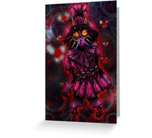 Skull Kid Full Greeting Card