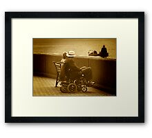 Ageing At Peace Framed Print