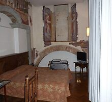 Our Room in Florence by Randy Sprout
