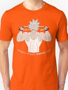 Rick and Morty - Big Rick Swole Patrol Unisex T-Shirt