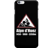 Tour de France Cycling Alpe d'Huez Shirt iPhone Case/Skin