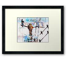 Hi Voltage Love Nest Framed Print