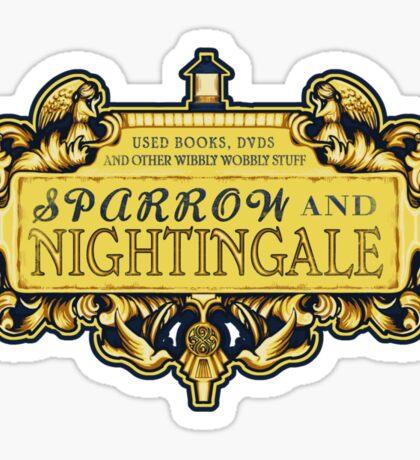 Sparrow & Nightingale  Sticker