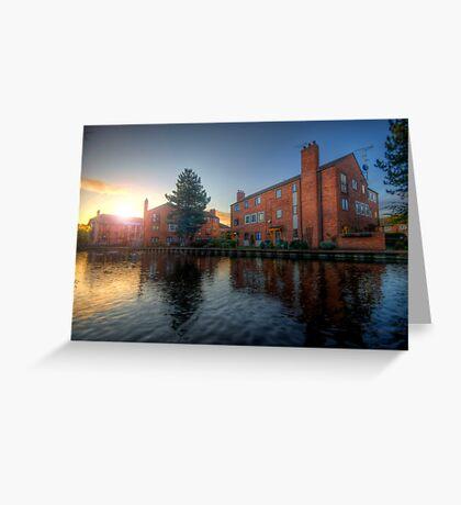 Suburban Sunrise 3.0 Greeting Card