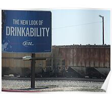 The New Look of Drinkability Poster