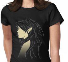 Chameleon Elf Womens Fitted T-Shirt