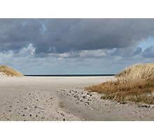 Sand, Water, Sky - Baltic Sea Photographic Print