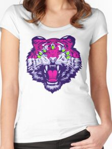Seven-Eyed Tiger Women's Fitted Scoop T-Shirt