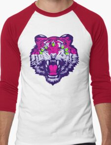 Seven-Eyed Tiger Men's Baseball ¾ T-Shirt