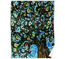 Liquorice Allsort Tree Poster