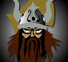 Viking Beserker iPhone by patjila