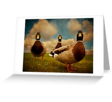 3 Amigos Greeting Card