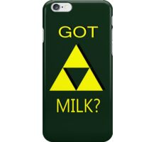 """""""GOT MILK?"""" The Legend of Zelda iPhone Case/Skin"""