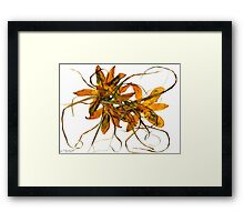 RIBBON DANCE IV Framed Print