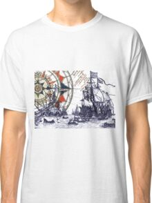 Sail Away  Classic T-Shirt