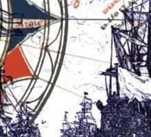 Sail Away  Sticker