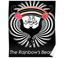 """The Rainbow's Beard - """"Fiberoptic Beard"""" Poster"""