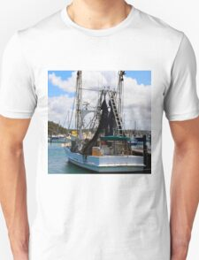 Moored Boat in Harbour T-Shirt