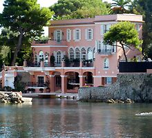 David Niven Villa On Cap Ferrat by Fara