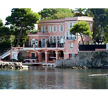 David Niven Villa On Cap Ferrat Photographic Print