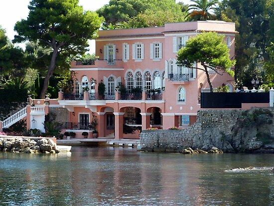 David Niven Villa On Cap Ferrat by Fara