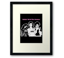 Rollin' Wit The Homies Framed Print
