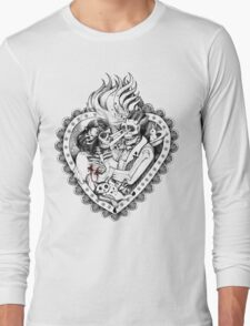 Day of the Dead Ancient Lovers T-Shirt