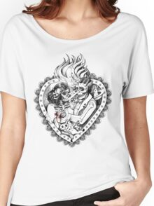Day of the Dead Ancient Lovers Women's Relaxed Fit T-Shirt