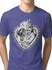 Day of the Dead Ancient Lovers Tri-blend T-Shirt