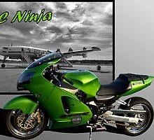 """KC Ninja"" Flying around Kansas City on two wheels by TeeMack"