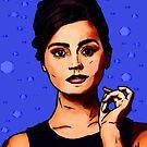 Jenna Coleman a.k.a Clara Oswald by Imran Nalla