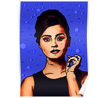 Jenna Coleman a.k.a Clara Oswald Poster