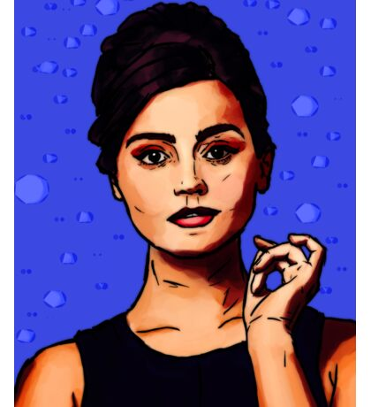 Jenna Coleman a.k.a Clara Oswald Sticker