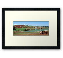 Rural Forthside Framed Print