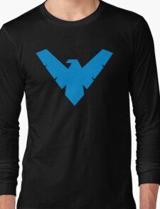 Blue Night wing Long Sleeve T-Shirt