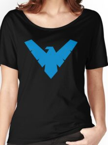 Blue Night wing Women's Relaxed Fit T-Shirt