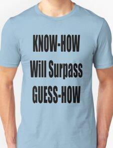 Know How will surpass Guess How T-Shirt