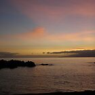 Sunset over Tenerife by shadebe