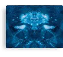 Blue Grotto Canvas Print
