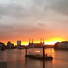 Battersea Sunset by shadebe