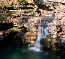 Upper Falls, Old Man's Cave - Hocking Hills State Park by Sam Warner