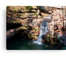 Upper Falls, Old Man's Cave - Hocking Hills State Park Canvas Print