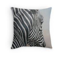 Zebra Look Throw Pillow