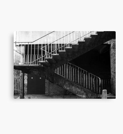 Not The Steps To Heaven Canvas Print