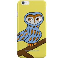 Wizzy The Owl by Denise Vasquez iPhone Case/Skin