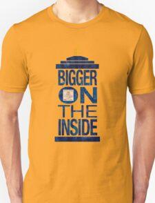It's Bigger on the Inside - Tardis Grunge T-Shirt