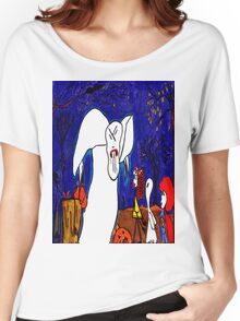 You stop eating my Pumpkin people friends! Women's Relaxed Fit T-Shirt