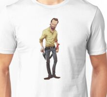 The Walking Dead Rick Cartoon Unisex T-Shirt